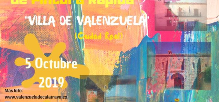 II CERTAMEN DE PINTURA RÁPIDA «VILLA DE VALENZUELA»