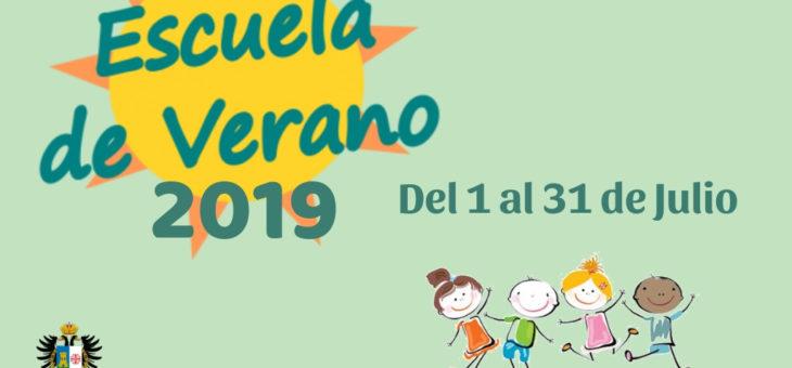 OFERTA EMPLEO – MONITOR ESCUELA DE VERANO 2019