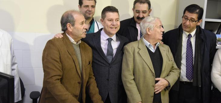 El presidente de Castilla La Mancha visita Valenzuela de Calatrava.